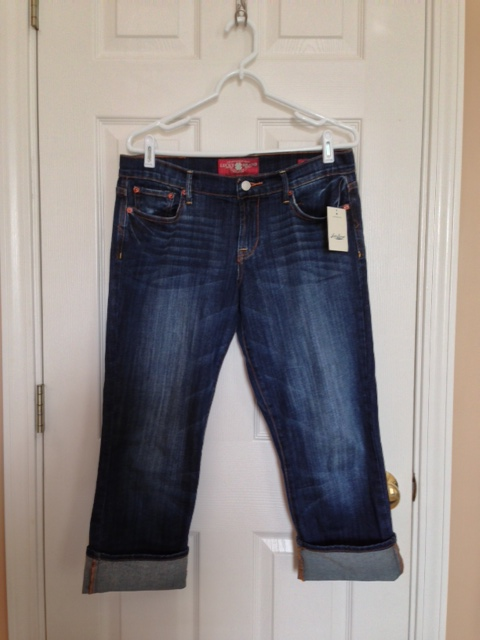 Lucky Brand Sweet 'N Crop Capri