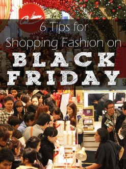 6 Tips for Shopping Fashion on Black Friday