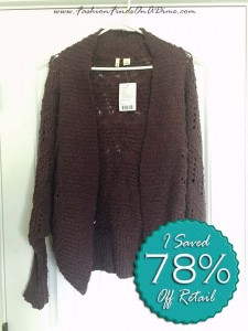 Anthropologie Amherst Cocoon Cardigan by Moth – February Find #5