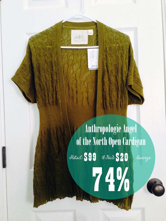 d384ab668ad Anthropologie Angel of the North Open Cardigan - November Find  2 ...