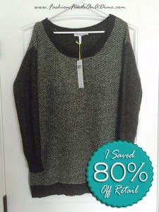 BCBGeneration Textured Tunic Sweater – January Find #2