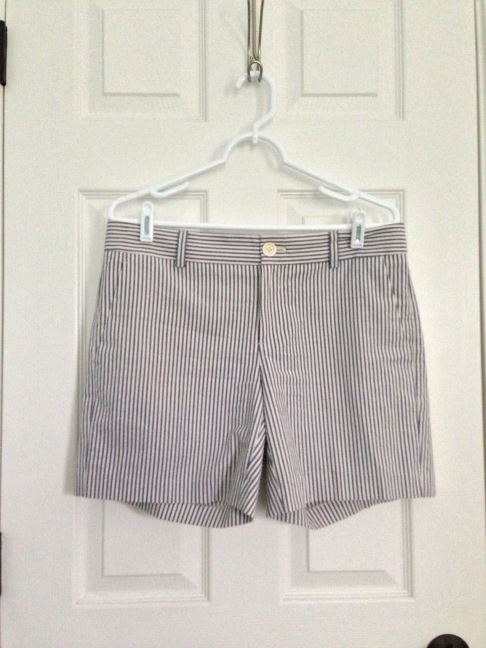 Banana Republic Vertical Stripe Short