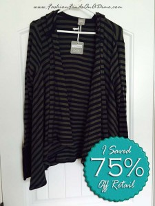 Bobi Los Angeles Striped Thermal Cardigan – November Find #2