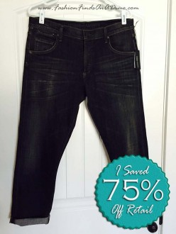 Citizens of Humanity Emerson Slim Boyfriend Jean in Reflector – February Find #2