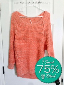 Free People Star Dune Marled Pullover – April Find #8