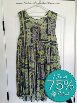 Free People 'Take Me to Thailand' Dress – March Find #7