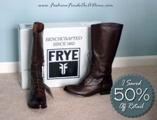 Frye Melissa Lace-Up Riding Boot – March Find #1