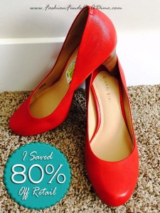 Gianni Bini Red Pump – February Find #7