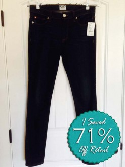 Hudson 'Nico' Mid Rise Super Skinny Jeans – October Find #6