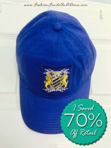 J.Crew Cotton Twill Embroidered Crest Baseball Cap – April Find #9