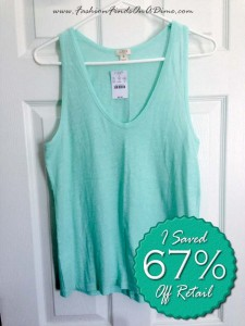 J.Crew Factory Layering Tank – April Find #3