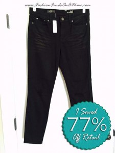 J.Crew Toothpick Jeans in Blacksmith Wash – January Find #3