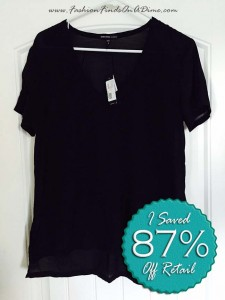 James Perse Silk Blend Tee – January Find #6