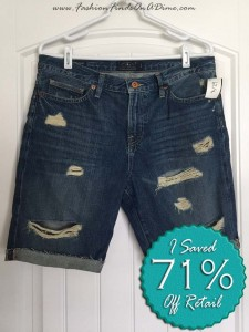 Lucky Brand Distressed Bermuda Denim Shorts – May Find #1