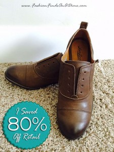 Lucky Brand Dooree Oxford Shoes – February Find #6
