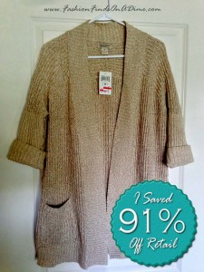 Lucky Brand Lexington Open Sweater – May Find #3