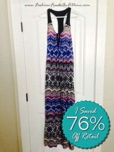 Lucky Brand Tribal Print Maxi Dress – August Find #1