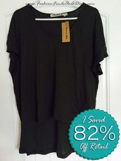 Michael Stars High Low Tee – April Find #7