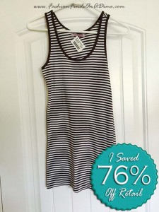 Michael Stars Striped Tank – April Find #3