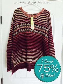 Mystree Striped Pullover Sweater – November Find #1
