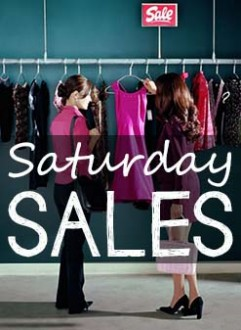 Saturday Sales – 8/16