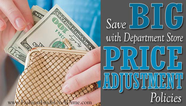 Save Big with Department Store Price Adjustment Policies