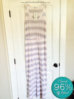 Splendid Pipeline Stripe Maxi Dress – October Find #11