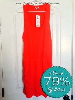 Splendid Ruched Tank Dress – September Find #3